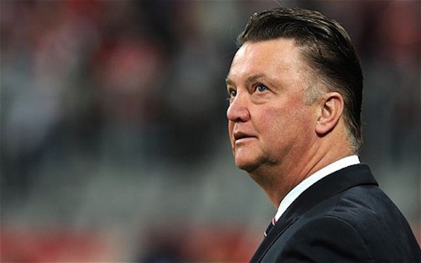Bayern Munich's Dutch head coach Louis v...Bayern Munich's Dutch head coach Louis van Gaal looks on ahead of the Champions League round of 16 second leg football match between Bayern Munich and Inter Milan at the Allianz-Arena stadium in Munich, southern Germany, on March 15, 2011.     AFP PHOTO / CHRISTOF STACHE (Photo credit should read CHRISTOF STACHE/AFP/Getty Images)