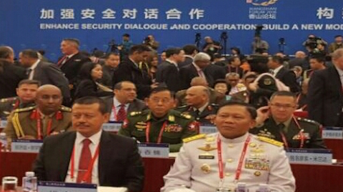 Kasum TNI Pimpin Delegasi Indonesia pada The 7th Xiangshan Forum
