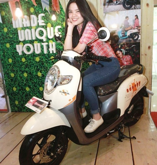 Besok, All New Honda Scoopy Dilaunching
