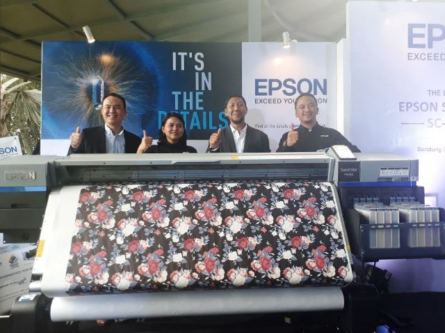 Epson Luncurkan Generasi Terbaru Printer Tekstil Sublimasi Digital