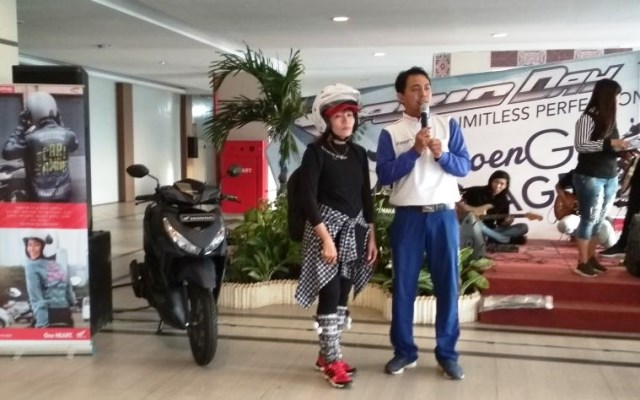 Sosialisasi Safety Riding di Grage Horizon