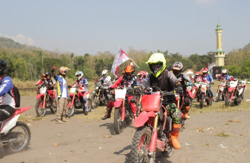 Sambut MXGP di Indonesia, 1.000 Bikers Semarakkan National Honda Roadventure